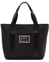 Tommy Hilfiger - Quilted Shopper Tote - Lyst