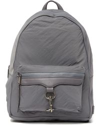 Rebecca Minkoff - Always On Mab Leather Trimmed Nylon Backpack - Lyst