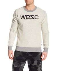 Wesc - Miles Reversible Sweatshirt - Lyst