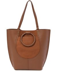 Lucky Brand - Leta Leather Tote Bag - Lyst