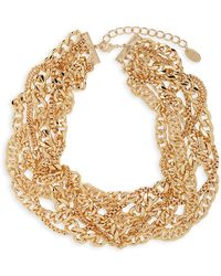 Cara - Layered Chain Necklace - Lyst
