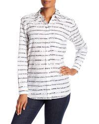 Equipment - Kenton Printed Shirt - Lyst