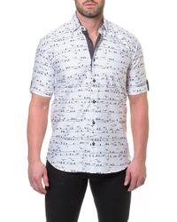 Maceoo - Fresh Wire Slim Fit Sport Shirt - Lyst