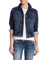 Silver Jeans Co. - Joga Denim Jacket - Lyst