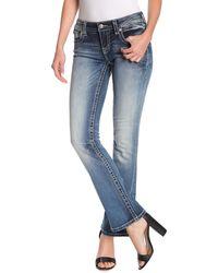 Miss Me Signature Bootcut Jeans - Blue