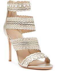 Pour La Victoire - Ellura Leather Sandal - Lyst