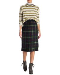 Romeo and Juliet Couture - Plaid Pleated Skirt - Lyst