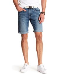 Joe's Jeans - Washed Mid Rise Denim Shorts - Lyst