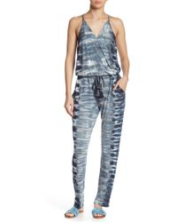 Young Fabulous & Broke Chrissy Surplice Racerback Jumpsuit