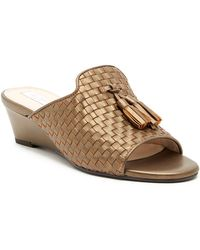 Cole Haan - Jagger Woven Wedge Sandal - Lyst