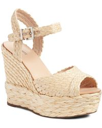 Schutz - Belatrix Platform Wedge Sandal (women) - Lyst