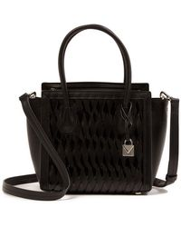Michael Kors - Mercer Studio Leather Mini Tote - Lyst