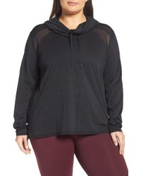 Zella - Adventure Hooded Pullover (plus Size) - Lyst