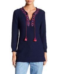 Tommy Bahama   Front Tassel Knit Sweater   Lyst