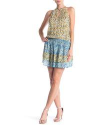 Ramy Brook - Mackinley Printed Silk Dress - Lyst