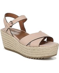 da54cfa49080 Naturalizer - Oceanna Ankle Strap Wedge Espadrille Sandal - Wide Width  Available - Lyst