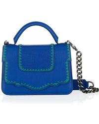 Thale Blanc - Saffiano Leather Audreyette Handbag - Lyst