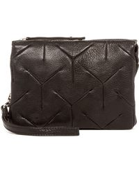 Day & Mood - Yvonne Leather Clutch - Lyst