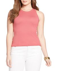 Lauren by Ralph Lauren - Sleeveless Jumper (plus Size) - Lyst