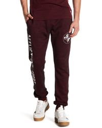 Affliction - Marble Sport Logo Joggers - Lyst