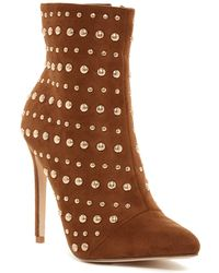 Elegant Footwear - Brissa Studded Pointed Toe Boot - Lyst