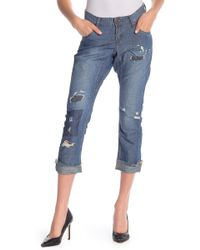 One Teaspoon - Lonely Boy Linen Blend Crop Jeans - Lyst