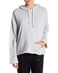 Betsey Johnson - Hooded French Terry Pullover - Lyst