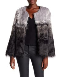 Cliche - Ombre Faux Fur Jacket - Lyst