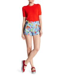 Love Moschino - Fruttini High Waist Shorts - Lyst