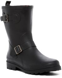 Dirty Laundry - Roll Along Rubber Rain Boot - Lyst