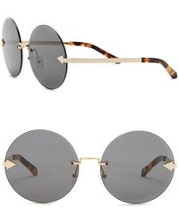 Karen Walker - Disco Circus 60mm Round Sunglasses - Lyst