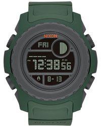 Nixon - Men's Super Unit Digital Watch, 49mm - Lyst