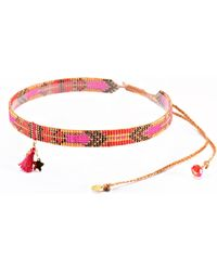Mishky - Macui Beaded Choker Necklace - Lyst