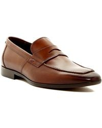 Bruno Magli - Calabria Leather Penny Loafer - Lyst