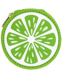 MIAMICA - Lime Round Pill Case - Lyst