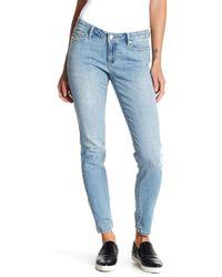 Joe Fresh - Distressed Skinny Jeans - Lyst
