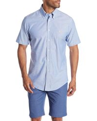 Brooks Brothers - Solid Short Sleeve Regular Fit Shirt - Lyst