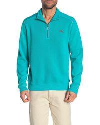 Tommy Bahama - Antique Half Zip Sweater - Lyst