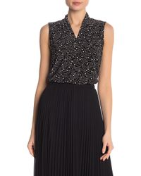 Anne Klein - Reagtime Patterned Tank - Lyst