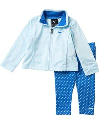 e00f969a95ae Nike - Ruffle Track Jacket   Printed Leggings Set (baby Girls) - Lyst