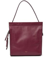 T Tahari - Leather Shoulder Bag - Lyst