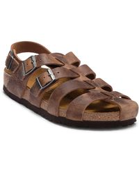 Birkenstock - Zadar Leather Caged Sandal - Discontinued - Lyst