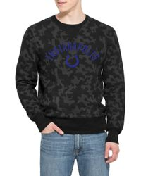 47 Brand | 'indianapolis Colts - Stealth' Camo Crewneck Sweatshirt | Lyst