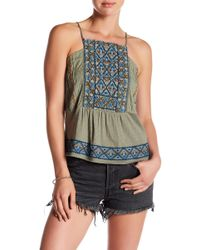 Lucky Brand - Embroidered Camisole - Lyst
