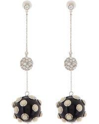 Marc Jacobs - Resin Drop Bubble Earrings - Lyst