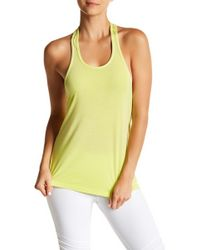 Trina Turk | Perforated Racerback Tank | Lyst
