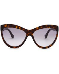 Lyst - Balenciaga Women s Cat Eye Sunglasses in Brown ffa05fa2f74a