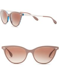 753d1ab0e94 Lyst - Ray-Ban 160mm Shield Sunglasses in Brown