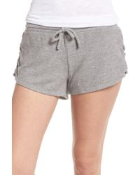 Chaser - Love Knit Drawstring Short - Lyst