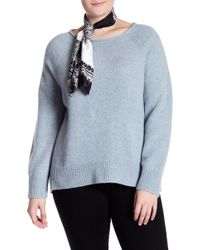 Naked Cashmere | Leila Raglan Cashmere Jumper (plus Size) | Lyst
